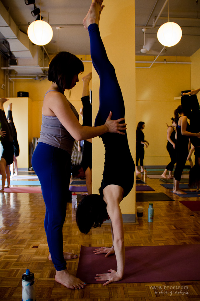 yoga teacher training handstand