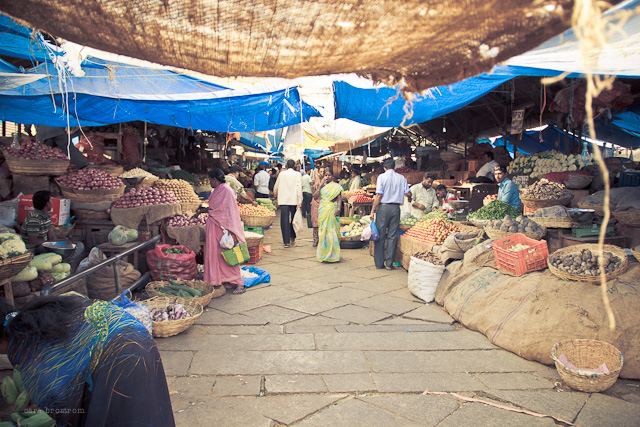market in mysore india