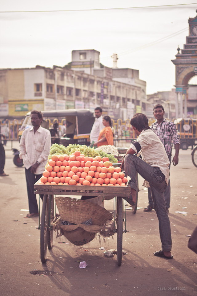 tomato cart mysore india