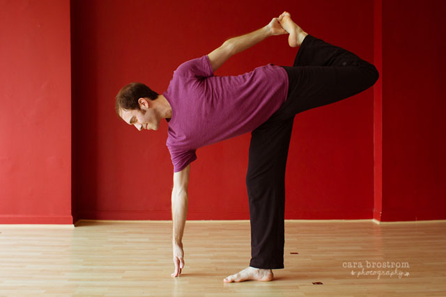 half moon pose ardha chandrasana yoga photography