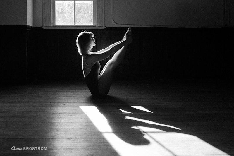 ashtanga yoga photography black and white shadow Cyndi Laird