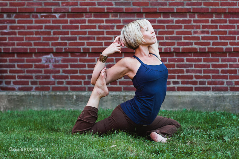 Krista Basis B Yoga Center King Pigeon Pose asana yoga photography